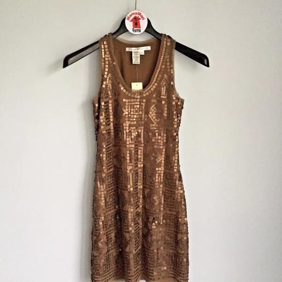 Max Studio Dresses & Skirts - Max Studio Matte Sequins Shift Dress